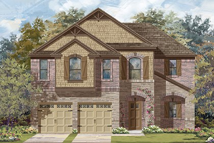 New Homes in Austin, TX - Plan A-2183 C