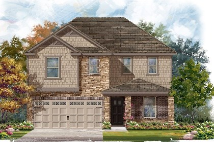 New Homes in Austin, TX - Plan E-2403 J
