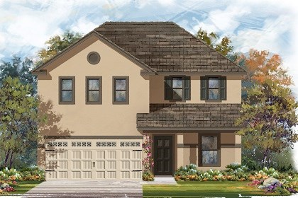 New Homes in Austin, TX - Plan E-2403 K