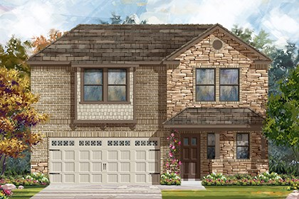 New Homes in Austin, TX - Plan E-2412 J