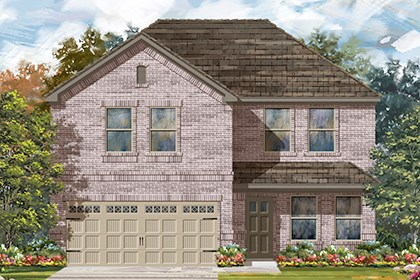 New Homes in Austin, TX - Plan E-2561 I