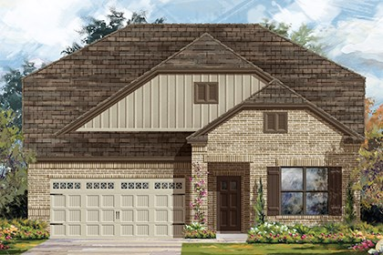 New Homes in Austin, TX - Plan A-2655 B