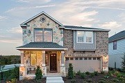 New Homes in Austin, TX - Plan E-2412 Modeled