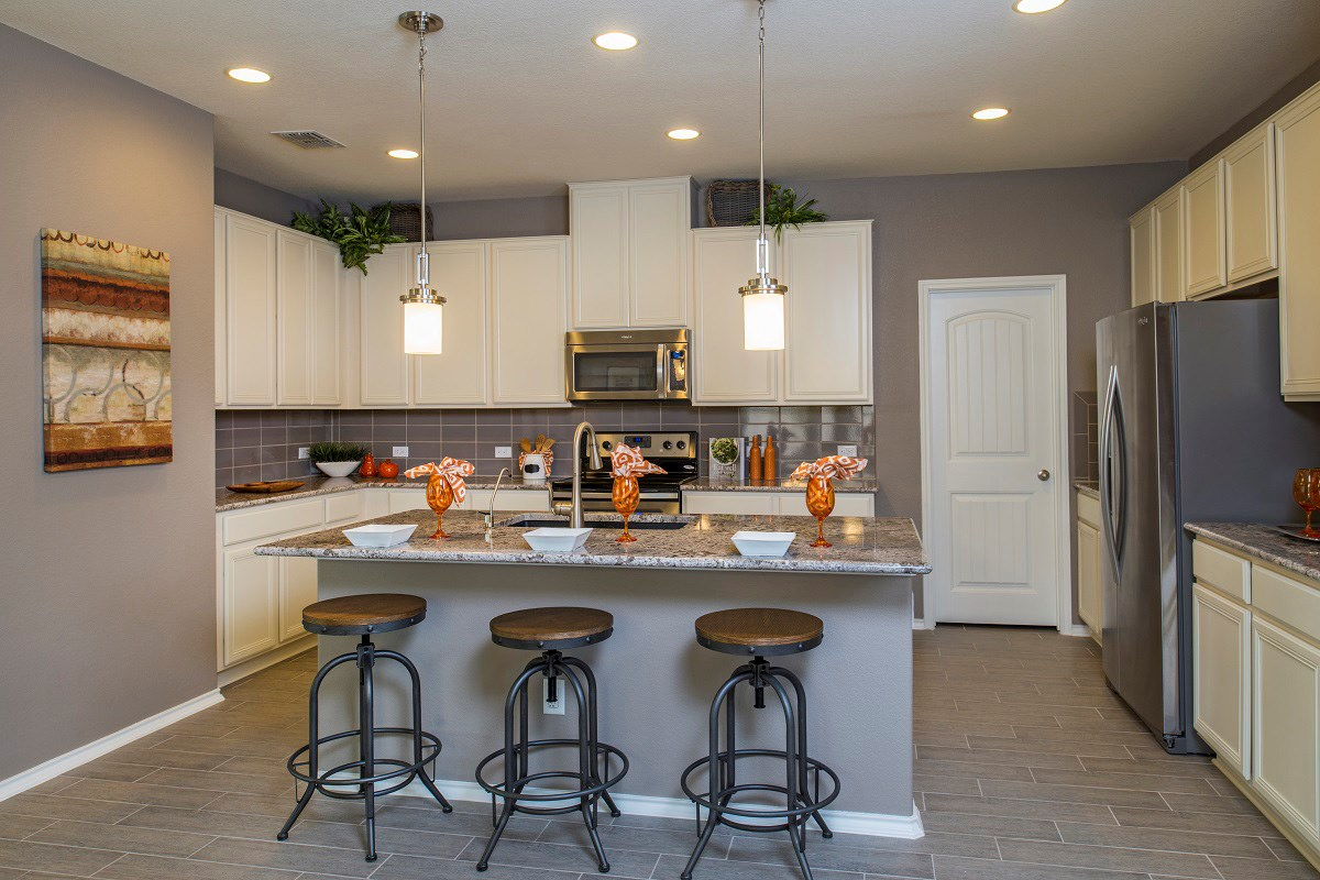 New Homes in San Marcos, TX - Retreat at Willow Creek A 1965 Kitchen