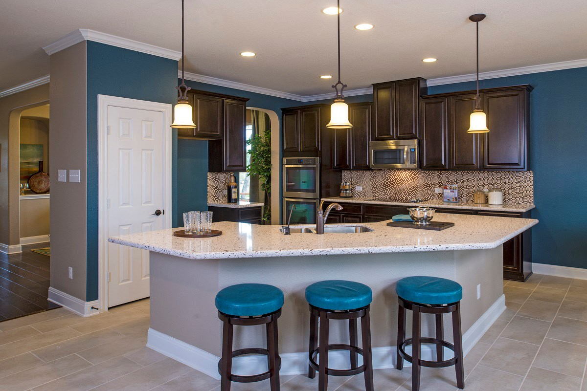 New Homes in Georgetown, TX - Creekside at Georgetown Village Plan A-2502 Kitchen