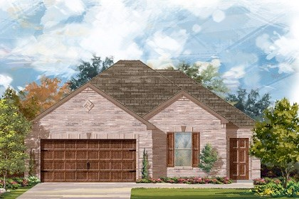 New Homes in San Marcos, TX - Plan A-1582-A
