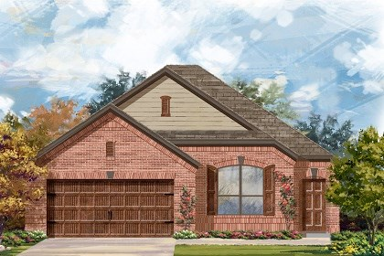 New Homes in San Marcos, TX - Plan A-1582-B