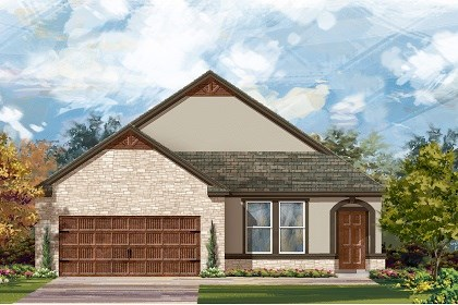 New Homes in San Marcos, TX - Plan A-1582-D