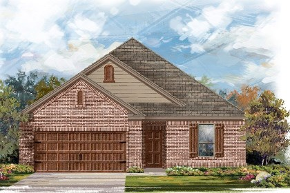 New Homes in San Marcos, TX - Plan A-1675-B