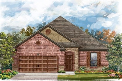 New Homes in San Marcos, TX - Plan A-1675-C