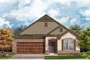 New Homes in San Marcos, TX - Plan A-1996