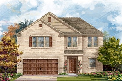 New Homes in San Marcos, TX - Plan A-2183 A