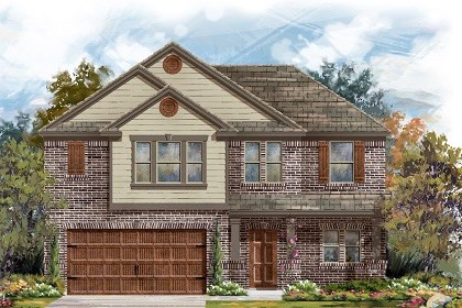 New Homes in San Marcos, TX - Plan A-2183 B
