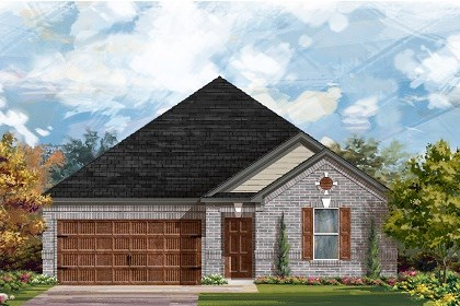 New Homes in San Marcos, TX - Plan A-2382 A