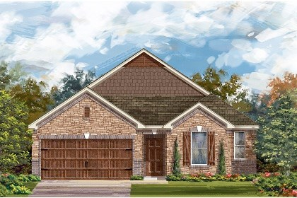 New Homes in San Marcos, TX - Plan A-2382 C
