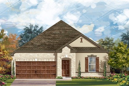 New Homes in San Marcos, TX - Plan A-2382 D