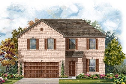 New Homes in Leander, TX - Plan A-2469 A