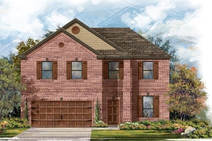 New Homes in San Marcos, TX - Plan A-2469 B