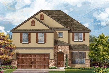 New Homes in Leander, TX - Plan A-2469 D