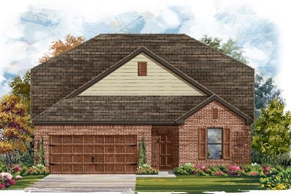 New Homes in San Marcos, TX - Plan A-2655 A