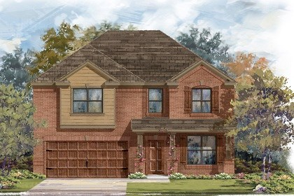 New Homes in San Marcos, TX - Plan A-2755 B