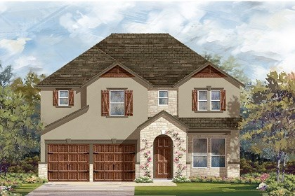 New Homes in San Marcos, TX - Plan A-2755 D
