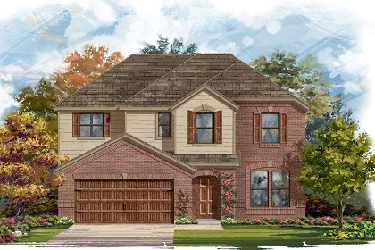 New Homes in San Marcos, TX - Plan A-2797 A