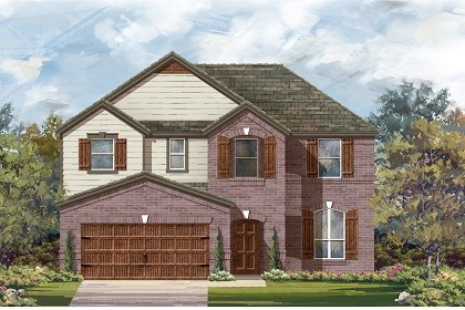 New Homes in San Marcos, TX - Plan A-2797 B