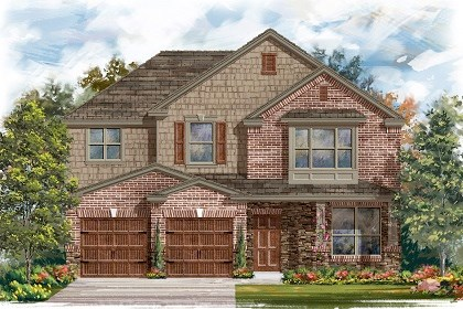 New Homes in San Marcos, TX - Plan A-2797 C