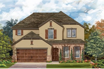 New Homes in San Marcos, TX - Plan A-2797 D