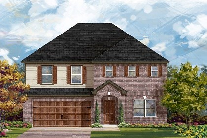 New Homes in San Marcos, TX - Plan A-2881 A