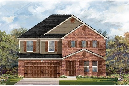 New Homes in San Marcos, TX - Plan A-2881 B