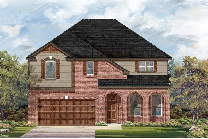 New Homes in San Marcos, TX - Plan A-3023 B