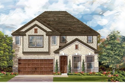 New Homes in San Marcos, TX - Plan A-3023 C
