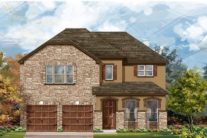 New Homes in San Marcos, TX - Plan A-3023 D