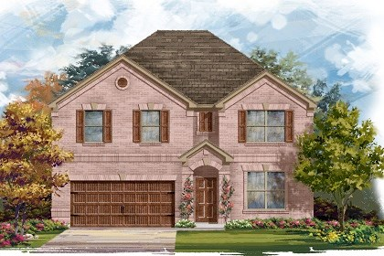 New Homes in San Marcos, TX - Plan A-3125 A