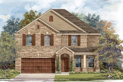 New Homes in San Marcos, TX - Plan A-3125 B