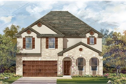 New Homes in San Marcos, TX - Plan A-3125 D