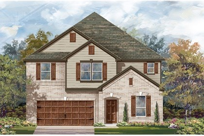 New Homes in San Marcos, TX - Plan A-3475 B