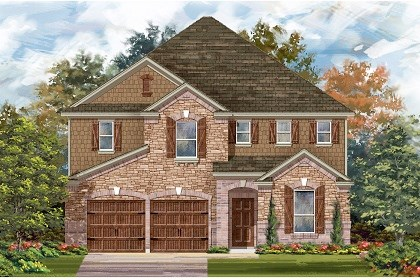 New Homes in San Marcos, TX - Plan A-3475 C