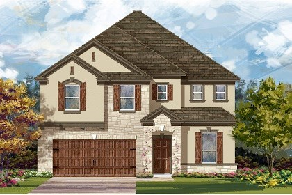 New Homes in San Marcos, TX - Plan A-3475 D