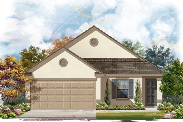 New Homes in Elgin, TX - Plan E-1246 E