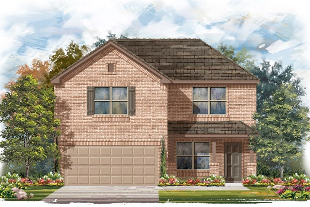 New Homes in Elgin, TX - Plan E-2177 C