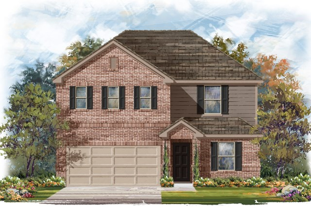New Homes in Elgin, TX - Plan E-2403 B