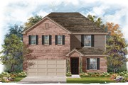 New Homes in Elgin, TX - Plan E-2403 Modeled