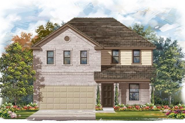 New Homes in Elgin, TX - Plan E-2403 C