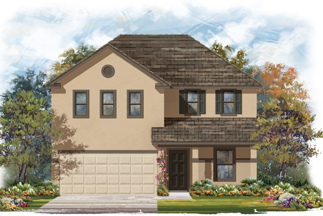 New Homes in Elgin, TX - Plan E-2403 E