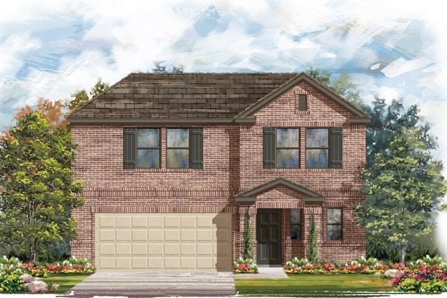 New Homes in Elgin, TX - Plan E-2412 C