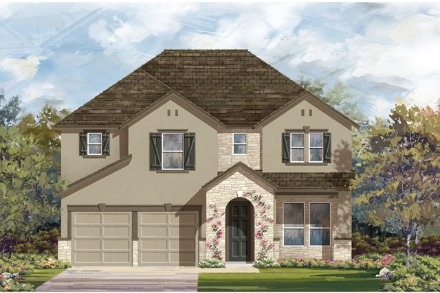 New Homes in Elgin, TX - Plan A-2755 4