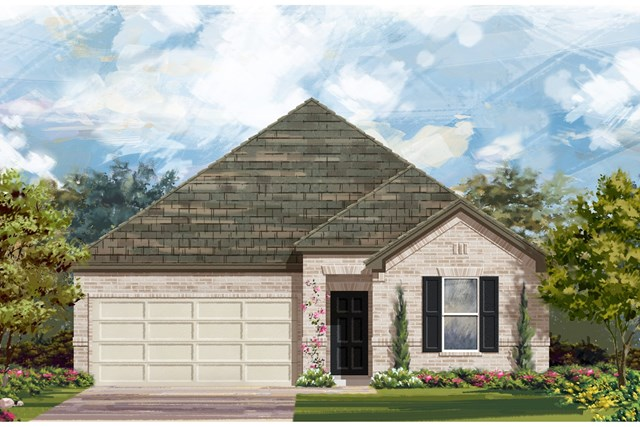 New Homes in Elgin, TX - Plan A-1491 1